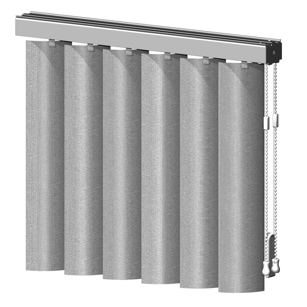 Graber vertical blinds fabric sheer vinyl - Sheer Vertical Blinds Combine The Flowing Appearance Of Drapery And The Practicality Of Easy Light Control When Rotated Open Vinyl Vanes Draped In Sheer